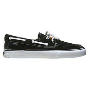 Vans Men's Zapato Del Barco (Black Suede)